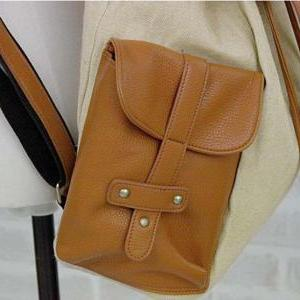 Fashion canvas bag casual shoulder ..