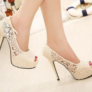 Diamond sexy high heels SC728DC
