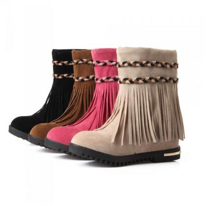 Increase in fashionable tassel Flat..