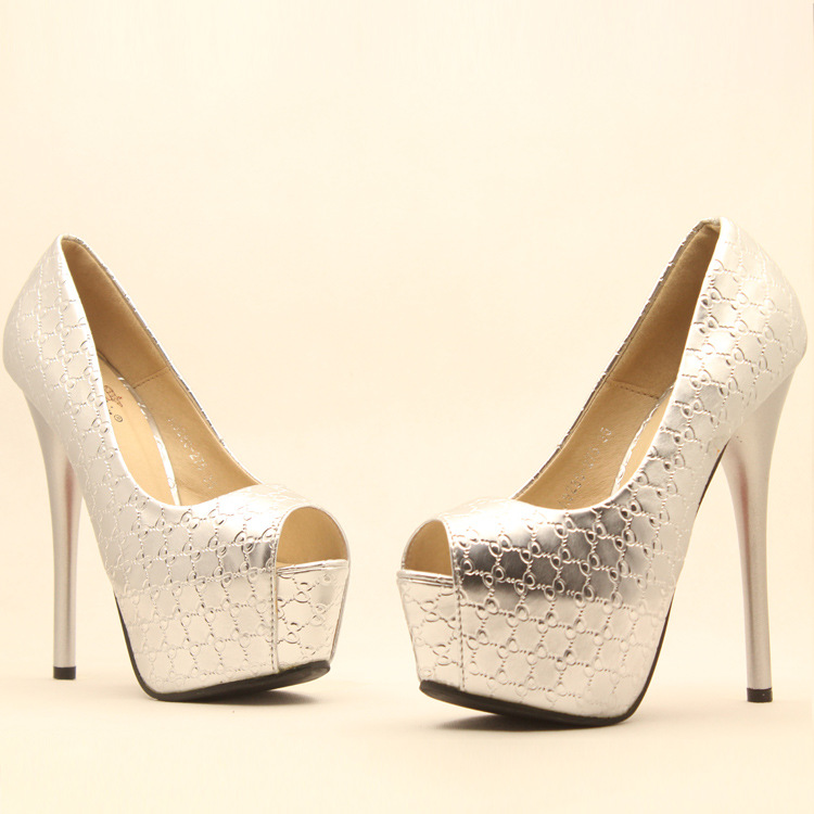 Fashion high-end high-heeled shoes fish head SC728CJ