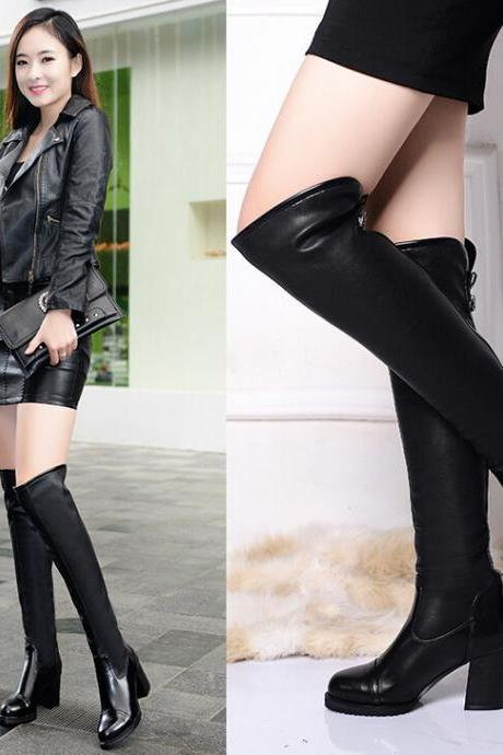 Fashion sexy high-heeled boots 7156084